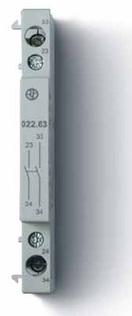 022.63   02263   Дополнительный контактный модуль для контакторов 22.44, 22.64; 2НО контакта; 6А