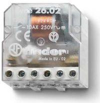 26.06.8.048.0000   260680480000   Импульсное реле, установка в монтажную коробку; 2НО контакта 10А (~ 48В AC)