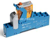 4C.52.8.230.0060.SPA | 4C5282300060SPA | Интерфейсный модуль реле; 2 перекидных контакта 8А (~ 230В AC) пружинные зажимы