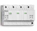 7P.04.8.260.1025 | 7P0482601025 | Устройство защиты от импульсных перенапряжений тип 1+2 - для трехфазных цепей с нейтралью, варисторная защита L1, L2, L3-N + искровой разрядник N-PE + дополнительный искровой разрядник закрытого типа