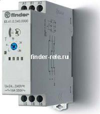 83.41.0.240.0000 | 834102400000 | Модульный таймер - задержка отключения по сигналу (BE); 1 перекидной контакт 16А (~/= 24-240В AC/DC)