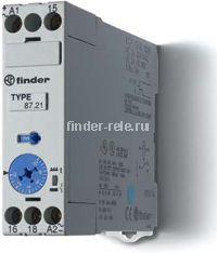 87.21.0.240.0000 | 872102400000 | Модульное реле времени - импульс при включении (DI); 1 перекидной контакт 8А (24-48В DC/ 24-240В AC)