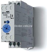 87.61.0.240.0000   876102400000   Модульное реле времени - задержка отключения по питанию (BI); 1 перекидной контакт 8А (~/= 24-240В AC/DC)
