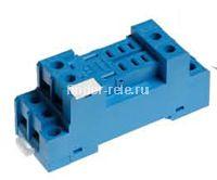 96.72.SMA | 9672SMA | Розетка для реле 56.32 и модуля 99.01; с комбинированными контактами; с металлическим фиксатором; винтовые зажимы; синяя; 12А