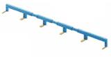 022.26 | 022.26 | 6-полюсный шинный соединитель синий, для 22.34