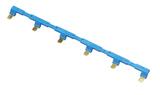 094.56 | 09456 | 6-полюсная шинка для розеток 94.P3, 94.P4; 10А, синяя