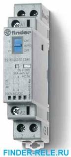 22.32.0.048.4540 | 223200484540 | Контактор модульный; 1НО + 1НЗ контакта 25А (~= 48В AC/DC) - AgSnO2