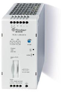 78.2E.1.230.2415 | 782E12302415 | Импульсный источник питания; вход 110-250В AC/DC; выход 24В DC, 240Вт; Компенсация реактивной мощности;  доп.контакт Предтревога