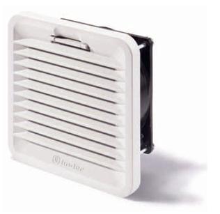7F.80.9.024.1020 | 7F8090241020 | Вентилятор с фильтром с обратным направлением потока, питание 24В DС, расход воздуха 24м3/ч