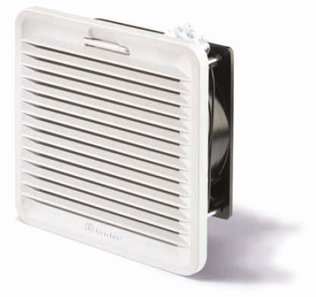 7F.80.9.024.2055 | 7F8090242055 | Вентилятор с фильтром с обратным направлением потока, питание 24В DС, расход воздуха 55м3/ч