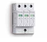 7P.13.8.275.1012 | 7P1382751012 | Устройство защиты от импульсных перенапряжений тип 1 - варисторная защита L1, L2, L3-PEN (~ 275В AC)
