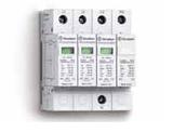 7P.14.8.275.1012 | 7P1482751012 | Устройство защиты от импульсных перенапряжений тип 1 - варисторная защита L1, L2, L3-N + искровой разрядник N-PE (~ 275В AC)