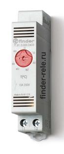 7T.81.0.000.2403 | 7T8100002403 | Модульный щитовой термостат, НЗ контакт, 10А, диапазон температур (0 … +60) °C