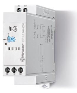 83.21.0.240.0000 | 832102400000 | Модульный таймер; функция: импульс при включении (DI); 1 перекидной контакт 16А (~/= 24-240В AC/DC)