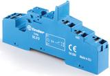 95.P3SPA  | 95P3SPA | Розетка с клеммами Push-in для реле  40.31 и модулей 99.02, 86.30 с раздельными контактами; с пластиковым фиксатором; синяя; 10А